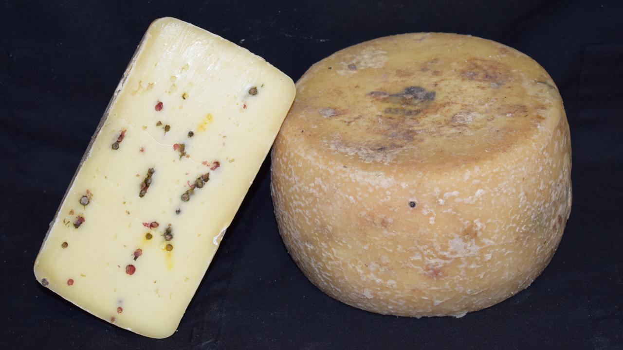 formaggio pepe e zafferano